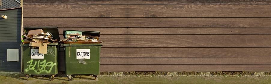Postagem vandalismo e mal uso de conteineres