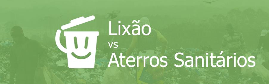 Lixão vs Aterro Capa home